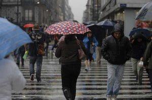 CDMX activa alerta amarilla  por lluvia en nueve d ...