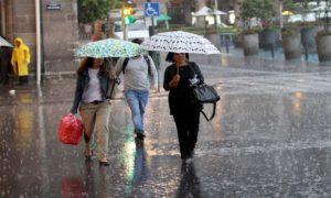 Pronostican lluvia vespertina para este miércoles