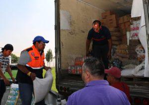 Central de Abasto recaba 24 toneladas de vivieres  ...