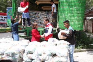 Senado entrega a Cruz Roja Mexicana 25 Toneladas d ...
