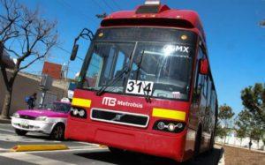 Suspendera Metrobús servicio por fiestas patrias