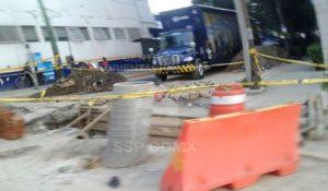 Se abre nuevo socavón en la Ciudad de México