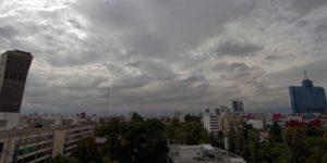 Sábado lluvioso en la CDMX
