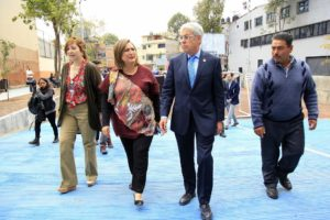 Inauguran en Miguel Hidalgo primer plaza infiltran ...