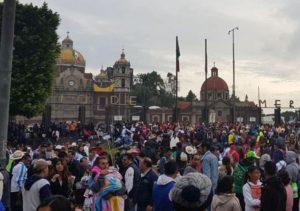 45 mil peregrinos a la Basílica en inicio de temp ...