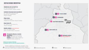 Movilidad para el próximo F1 en la CDMX