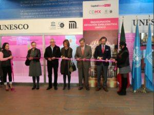 Inaugura STC estación emblemática de la UNESCO e ...