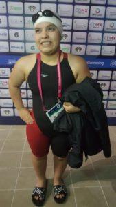 Naomi Somellera, una sirena con corona mundialista