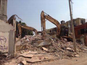 Concluyen demoliciones en Escocia 29 y Calzada de  ...