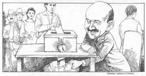 El sistema electoral, fraudulento, y en manos de t ...